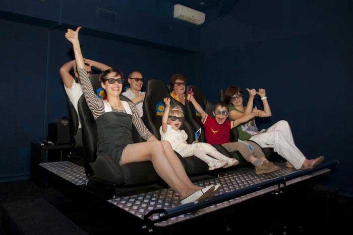 Что такое 4d кинотеатр